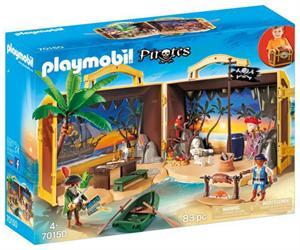 Playmobil Piratas Isla Maletin 70150