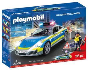 Playmobil Porche 911 Carrera 4S Policia 70066
