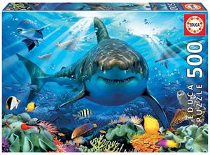Puzzle Gran Tiburón Blanco 500 piezas Educa 18478