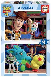 Puzzle Toy Story 4 2x48 piezas Educa 18106