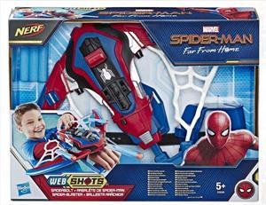 Spiderman Blaster Ballesta Arácnida Hasbro 3559E