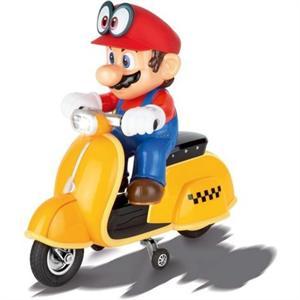 Super Mario Odyssey Moto Scooter Radio Control Carrera 200992