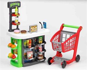 Supermercado con Carrito y Accesorios 48x26x72cm Simba 1792
