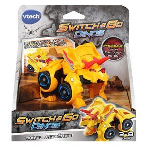 Switch Go Dinos Tino El Tricerátops Vtech 1830