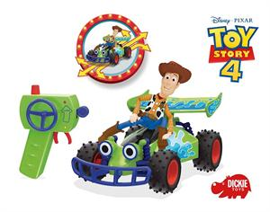 Toy Story Coche Radio Control Buggy con Figura Woody Simba 3154001