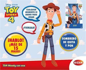 Toy Story Figura Woody con voz y sonidos Bizak 61234071