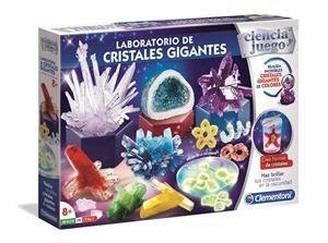Ciencia y Juego Laboratorio de Cristales Gigantes Clementoni 553228