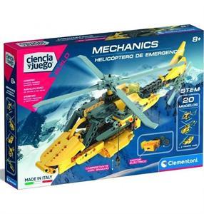 Ciencia y Juego Laboratorio Helicóptero de Rescate Clementoni 554225