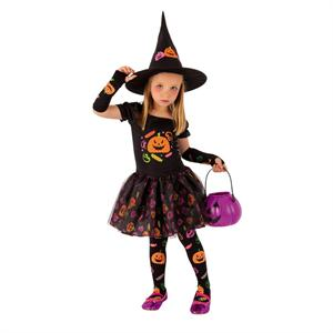 Disfraz Bruja Candy Infantil Talla-S8349-T 1 a 2 años Rubie's S8349T