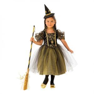 Disfraz Bruja Estrellitas Infantil Talla-S 3 a 4 años Rubie's 641093-S