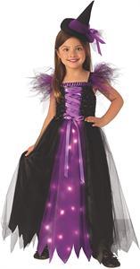 Disfraz Bruja Madrina con Luz Infantil Talla-S 3 a 4 años Rubie's 700903S