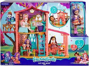 Enchantimals Casa Ciervo con Muñeca Mattel 18GYJ