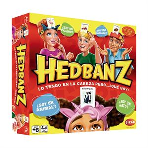 Juego Hedbanz Adivina Que Pienso Nuevo Bizak 61924297