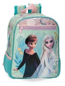 Mochila Frozen II Infantil 23x28x10cm Joumma 444211D