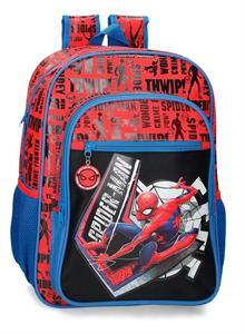 Mochila Spiderman Great Power Adaptable Carro Joumma 445231D
