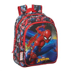 Mochila Spiderman Infantil Safta 612143524