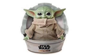 Peluche baby Yoda Mandalorian Star Wars 28cm Mattel 85GWD