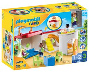 Playmobil 1.2.3 Guarderia Maletin 70399