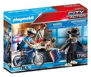 Playmobil City Action Bici Policial 70573
