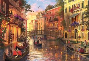 Puzzle Atardecer en Venecia 1500 piezas Educa 17124