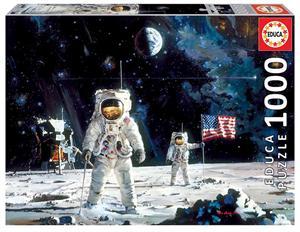 Puzzle First Men On The Moon Fsc 1000 piezas Educa 18459