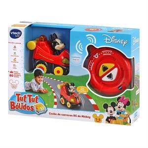 Tut Tut Bolidos Coche Radio Control Mickey con Sonidos Vtech 513722